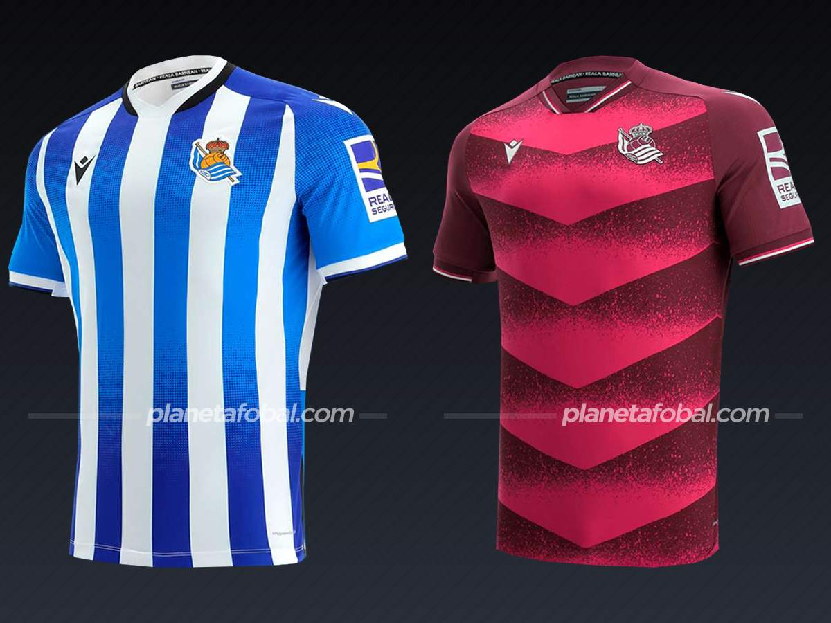 Real Sociedad (Macron)   Camisetas de LaLiga 2021/22