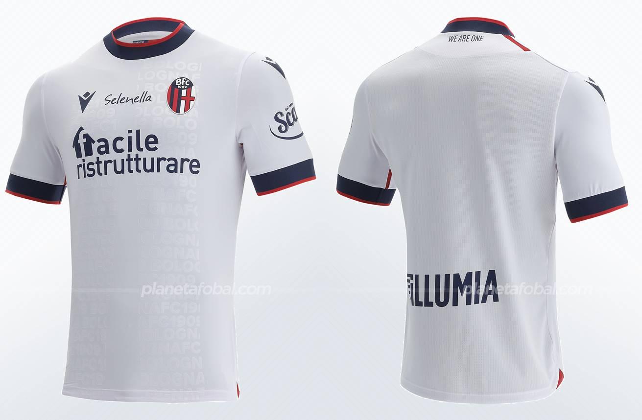 Camisetas Macron del Bologna 2021/22
