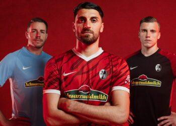 Camisetas Nike del SC Freiburg 2021/22