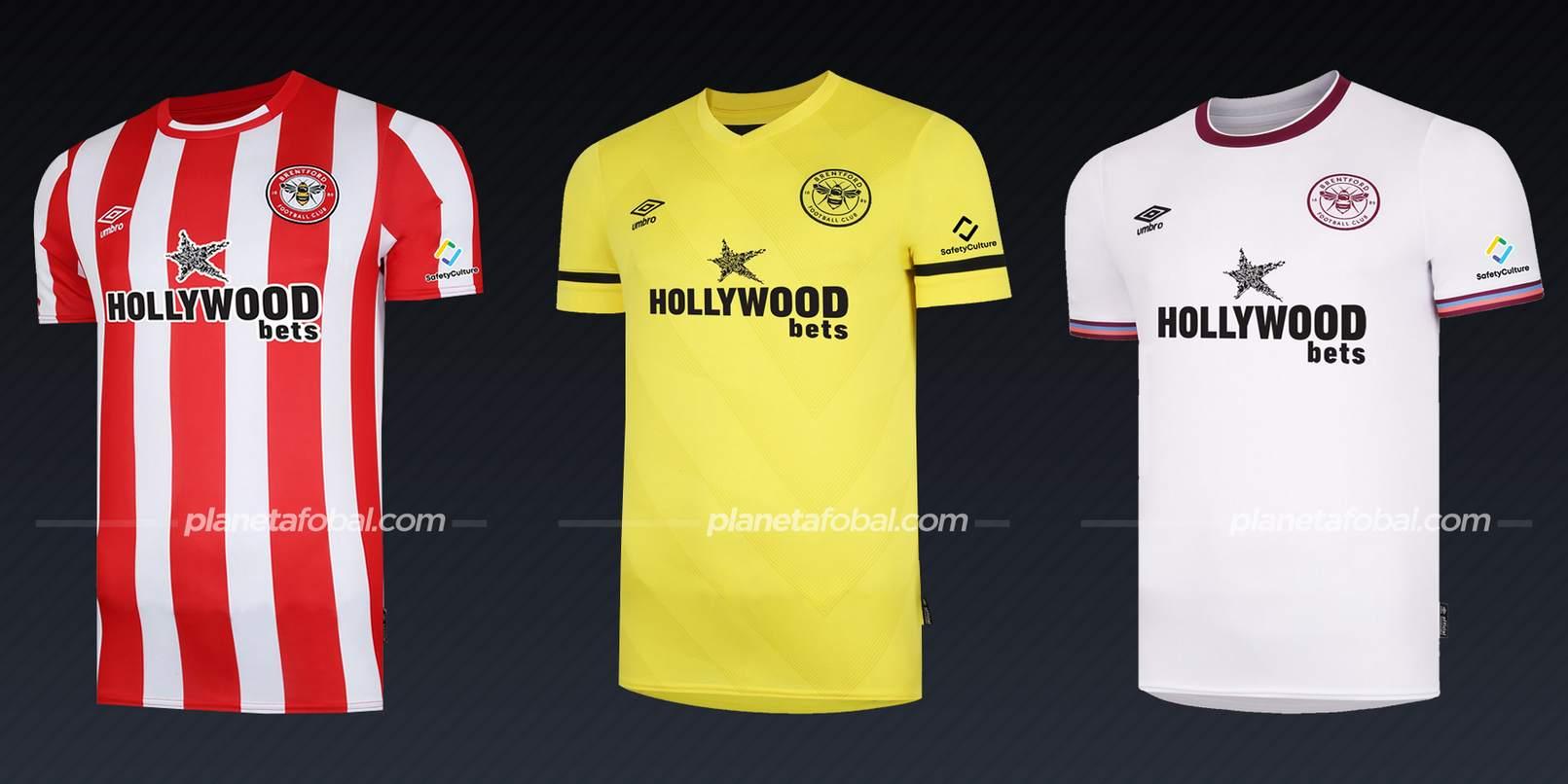 Brentford (Umbro) | Camisetas de la Premier League 2021/22