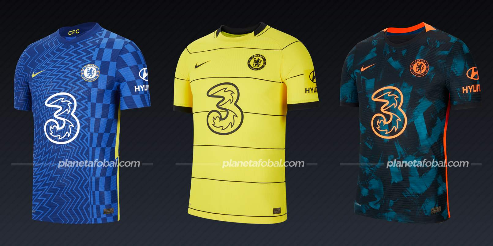 Chelsea (Nike) | Camisetas de la Premier League 2021/22