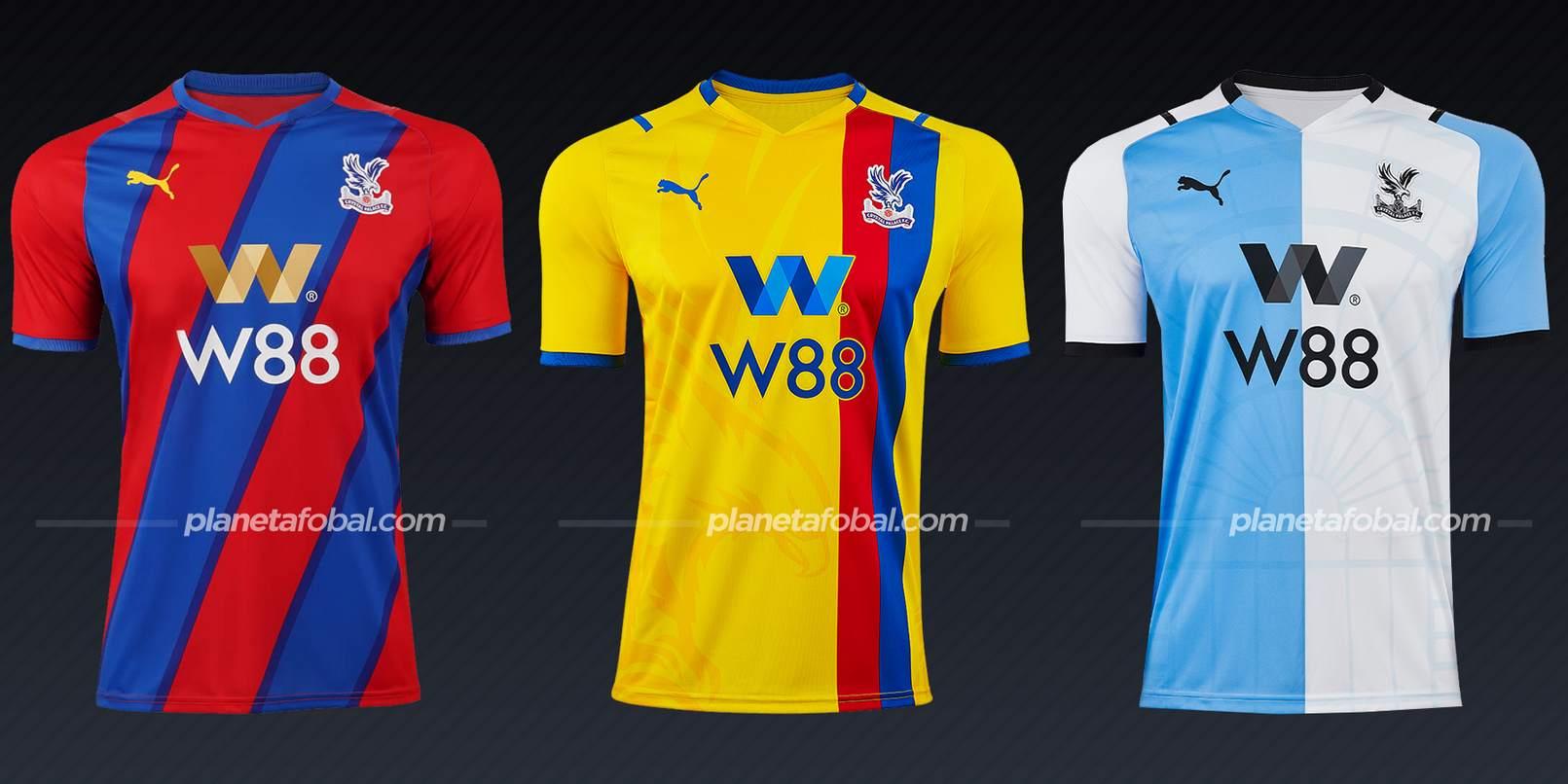 Crystal Palace (PUMA) | Camisetas de la Premier League 2021/22