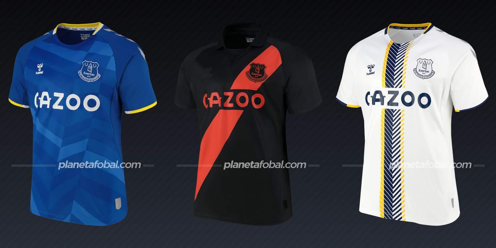 Everton (Hummel) | Camisetas de la Premier League 2021/22
