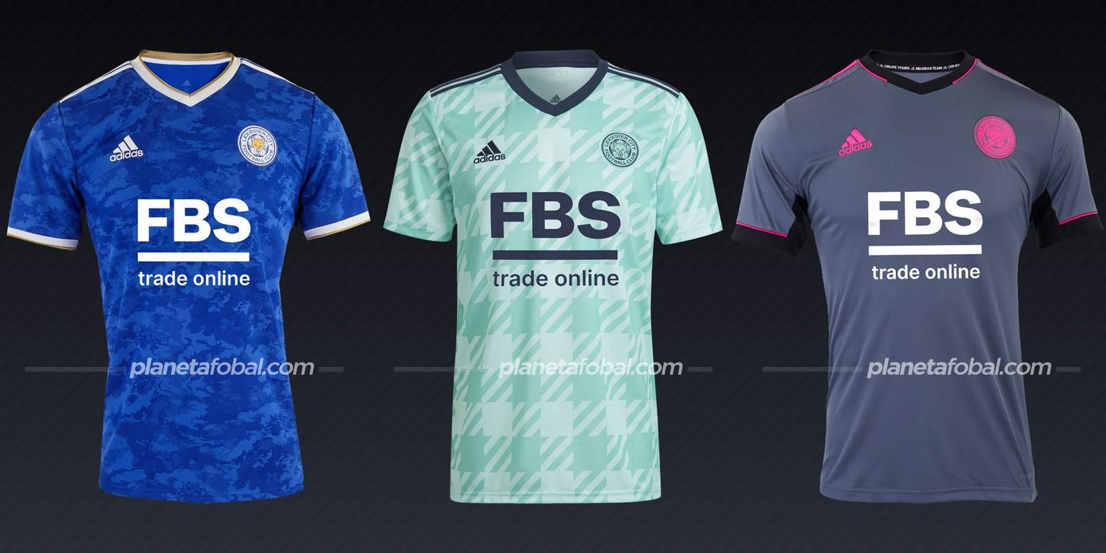 Leicester City (adidas) | Camisetas de la Premier League 2021/22