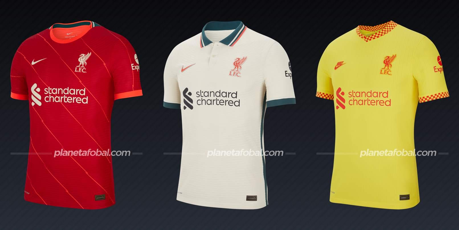 Liverpool (Nike) | Camisetas de la Premier League 2021/22