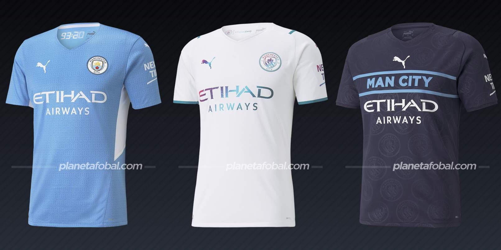 Manchester City (PUMA) | Camisetas de la Premier League 2021/22