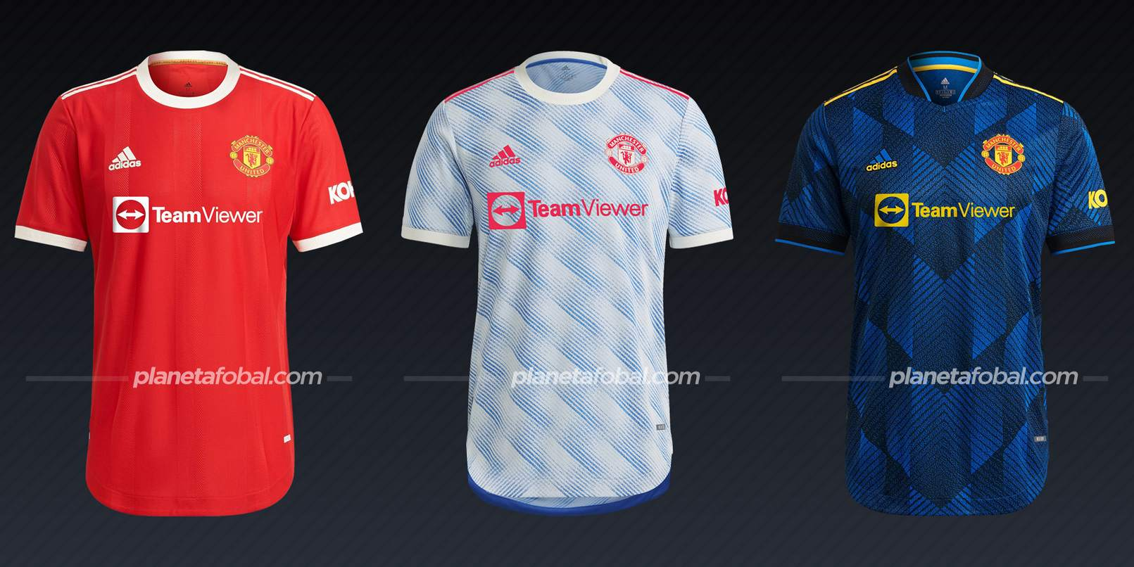 Manchester United (adidas) | Camisetas de la Premier League 2021/22