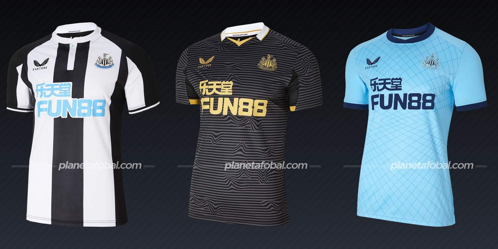 Newcastle (Castore) | Camisetas de la Premier League 2021/22