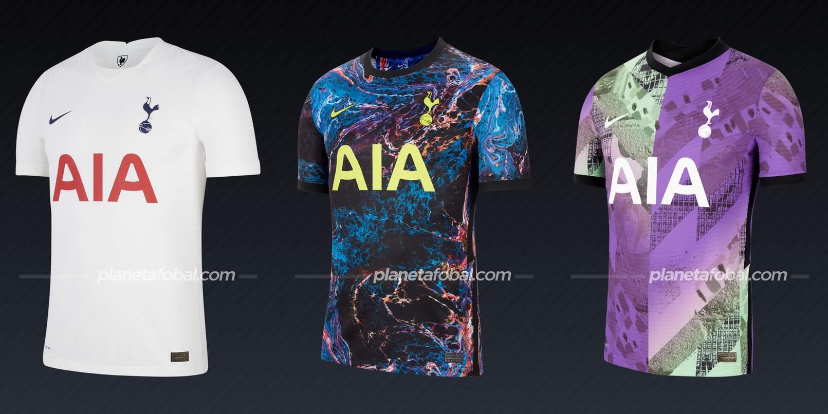 Tottenham (Nike) | Camisetas de la Premier League 2021/22