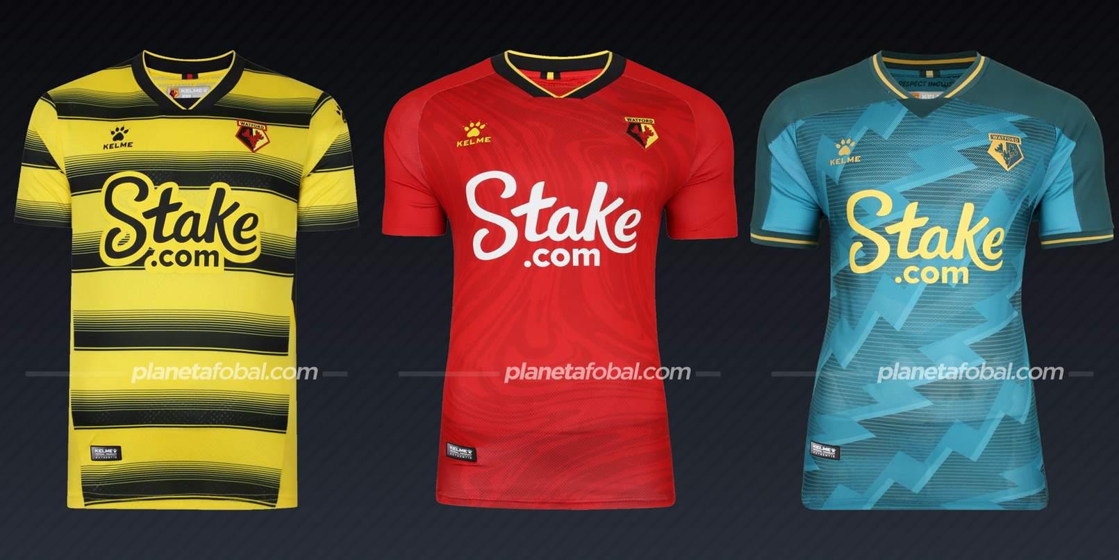 Watford (Kelme) | Camisetas de la Premier League 2021/22