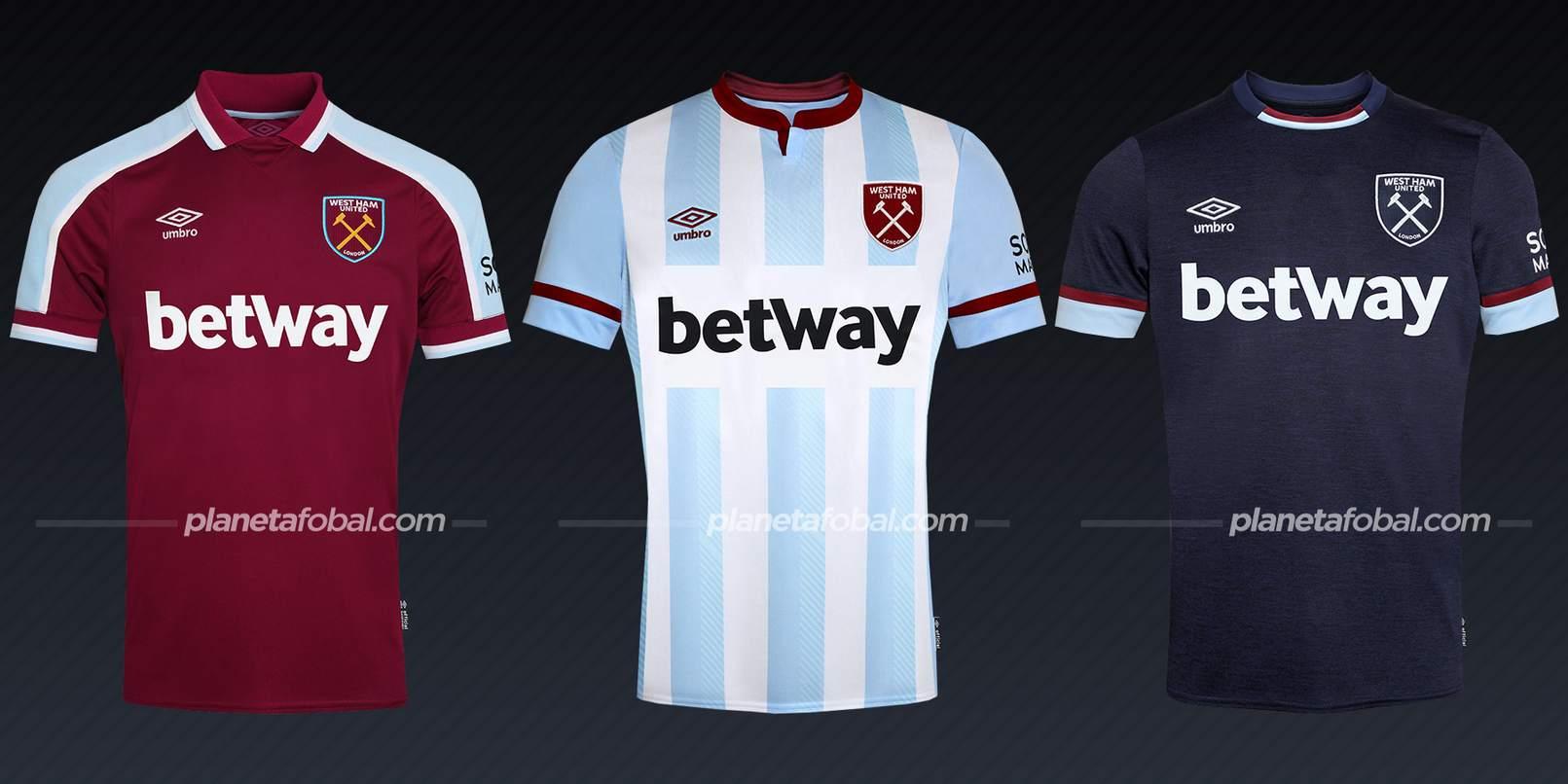 West Ham United FC (Umbro) | Camisetas de la Premier League 2021/22