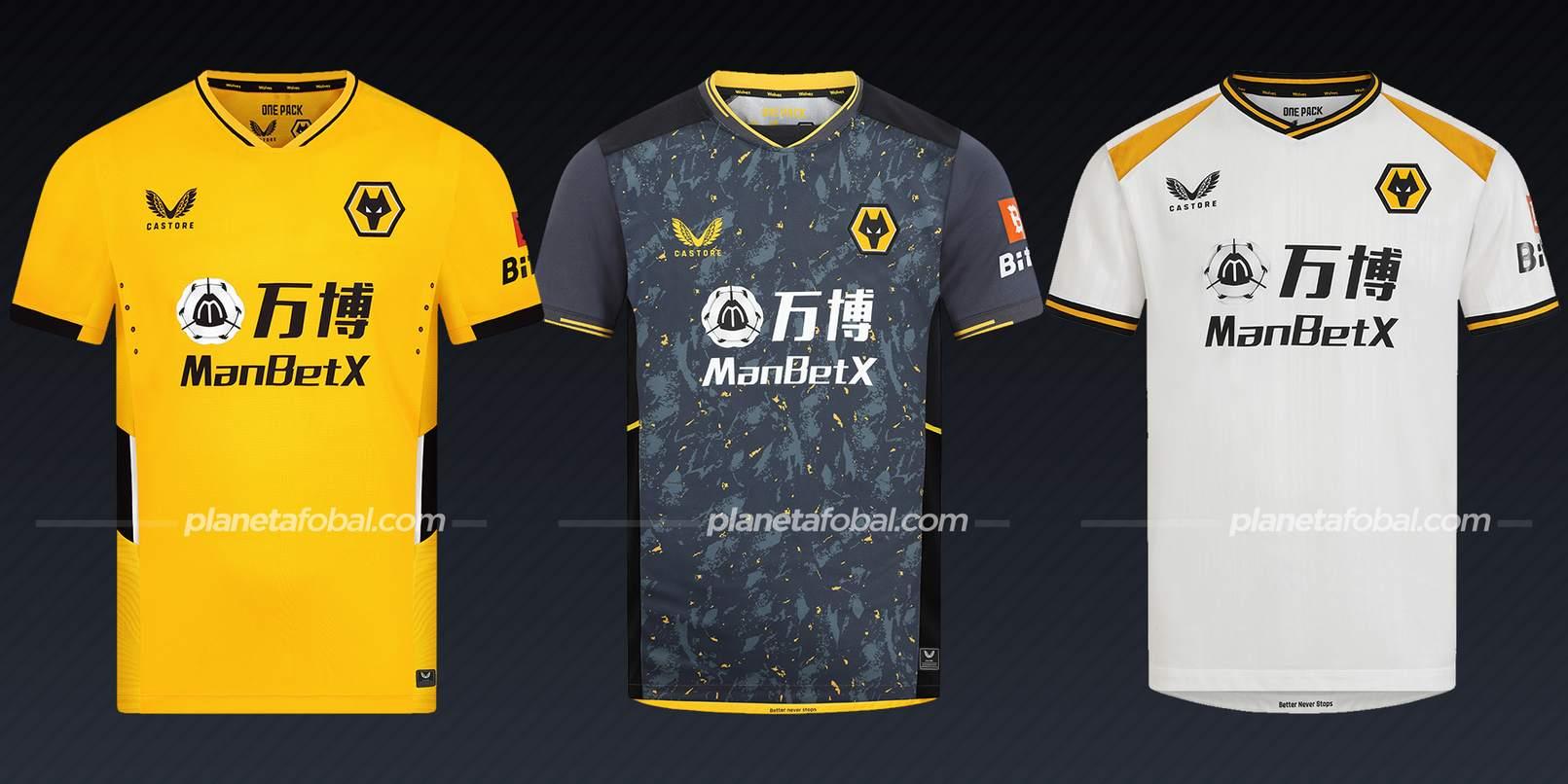 Wolverhampton (Castore) | Camisetas de la Premier League 2021/22