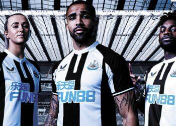 Camiseta Castore del Newcastle 2021/22