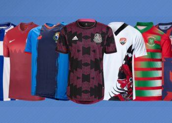 Camisetas de la Copa Oro 2021