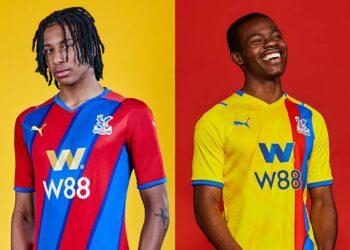 Camisetas Puma del Crystal Palace 2021/22