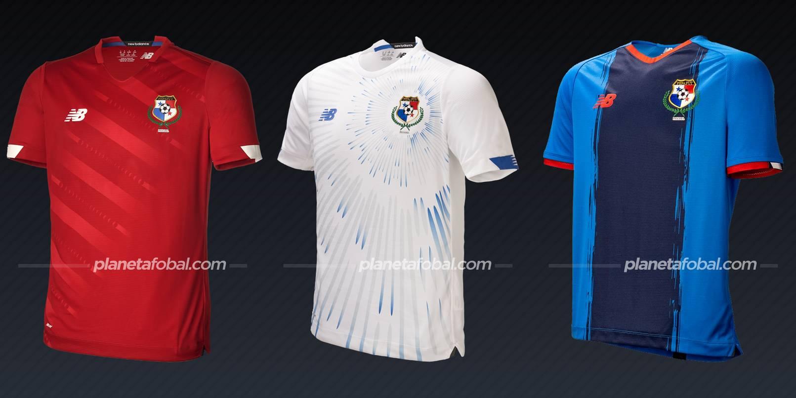 Panamá (New Balance) | Camisetas de la Copa Oro 2021