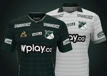 Camisetas le coq sportif del Deportivo Cali 2021/22