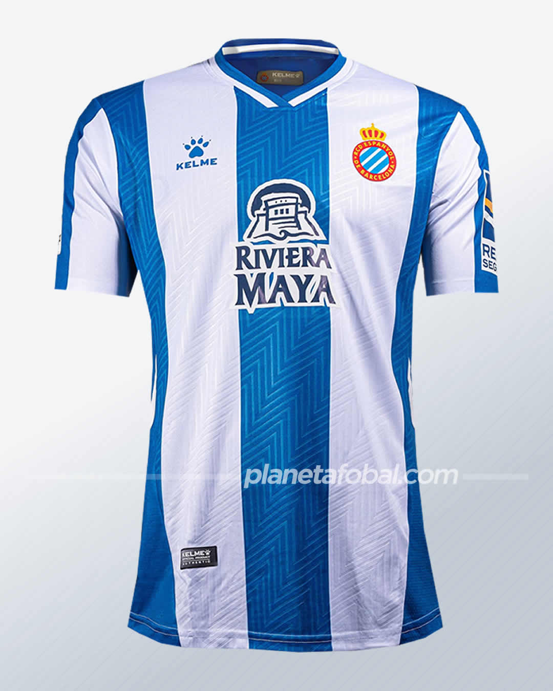 Camisetas Kelme del RCD Espanyol 2021/22