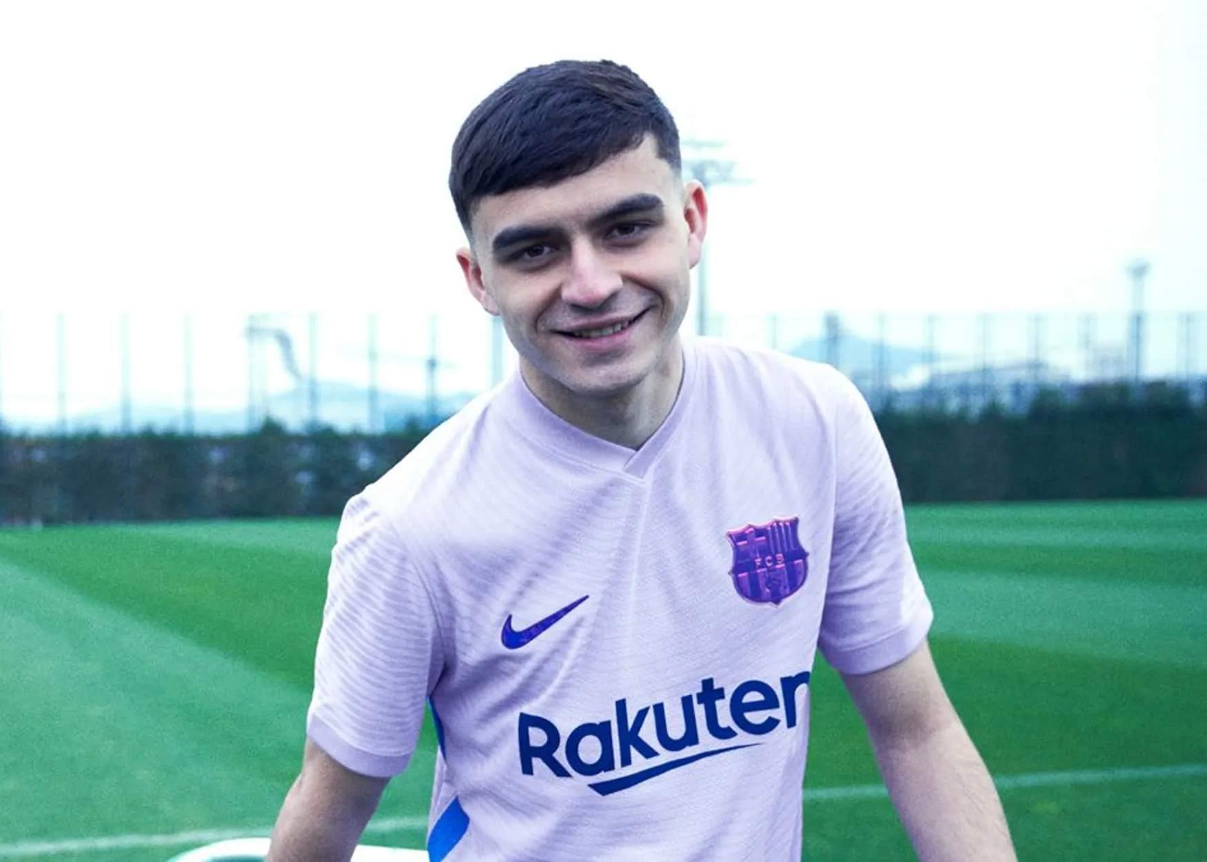 Camiseta suplente Nike del Barcelona 2021/2022