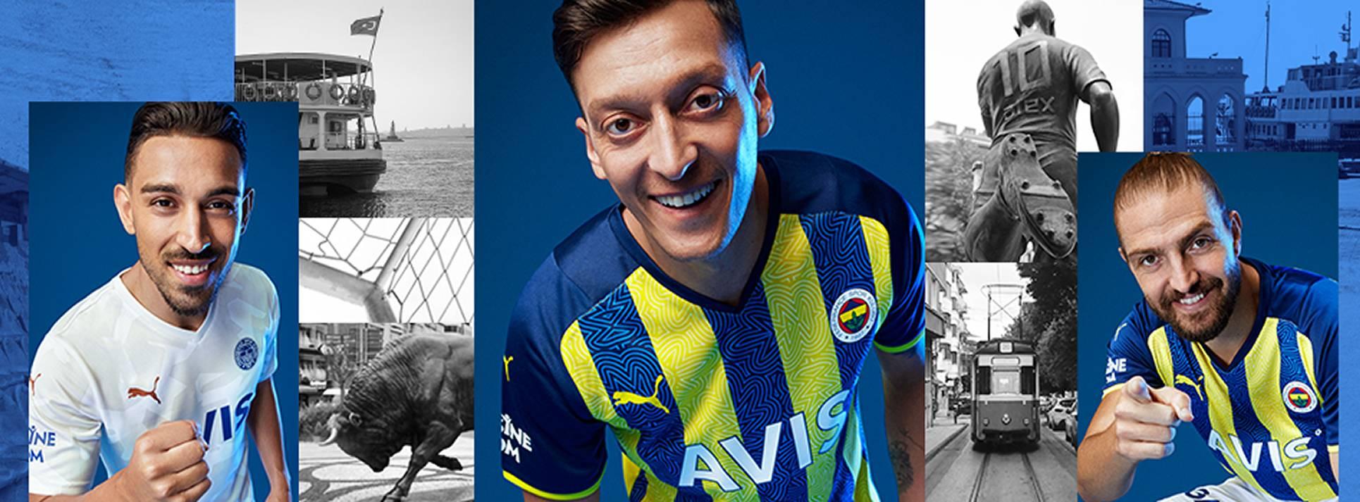 Camisetas Puma del Fenerbahçe 2021/22