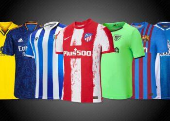 Camisetas de la Liga española 2021/2022