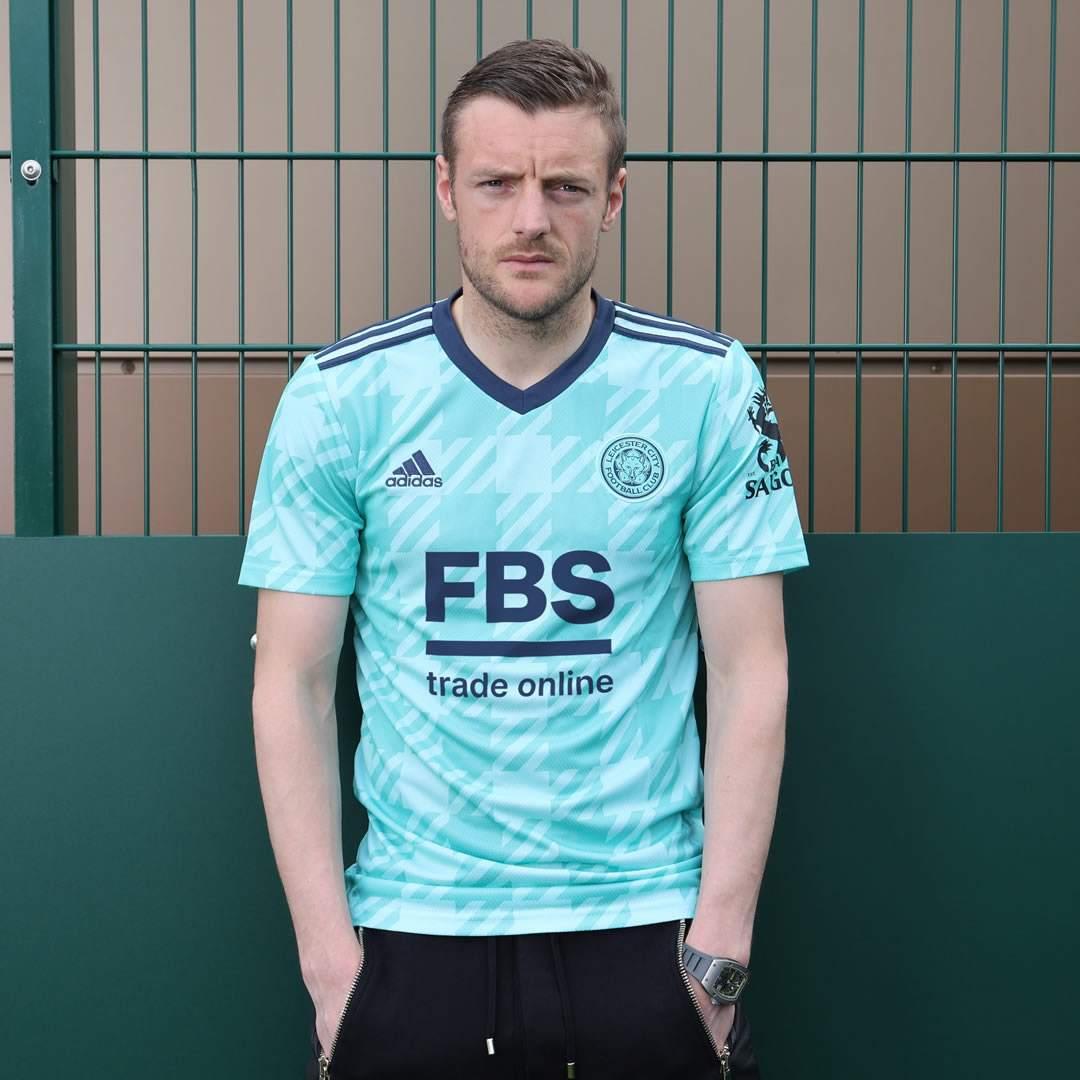 Camiseta suplente adidas del Leicester City 2021/22
