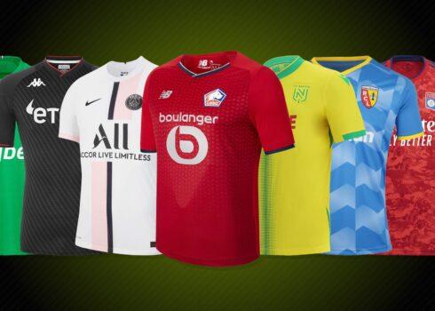 Camisetas de la Ligue 1 2021/22