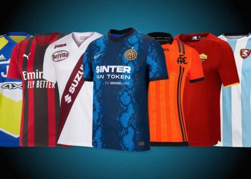 Camisetas de la Serie A 2021/2022