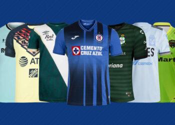 Camisetas de la Liga MX 2021/2022