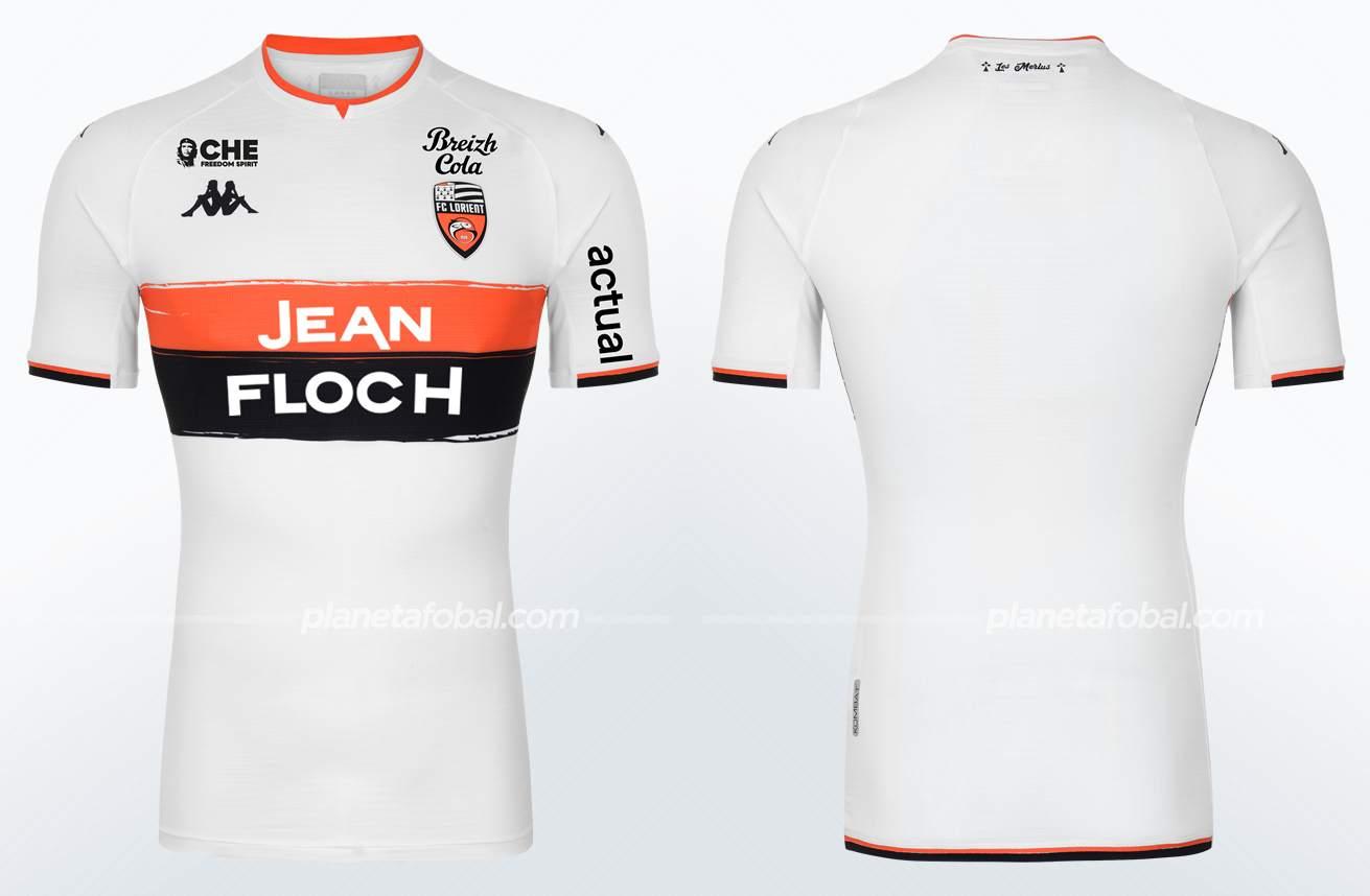 Camiseta suplente Kappa del FC Lorient 2021/22