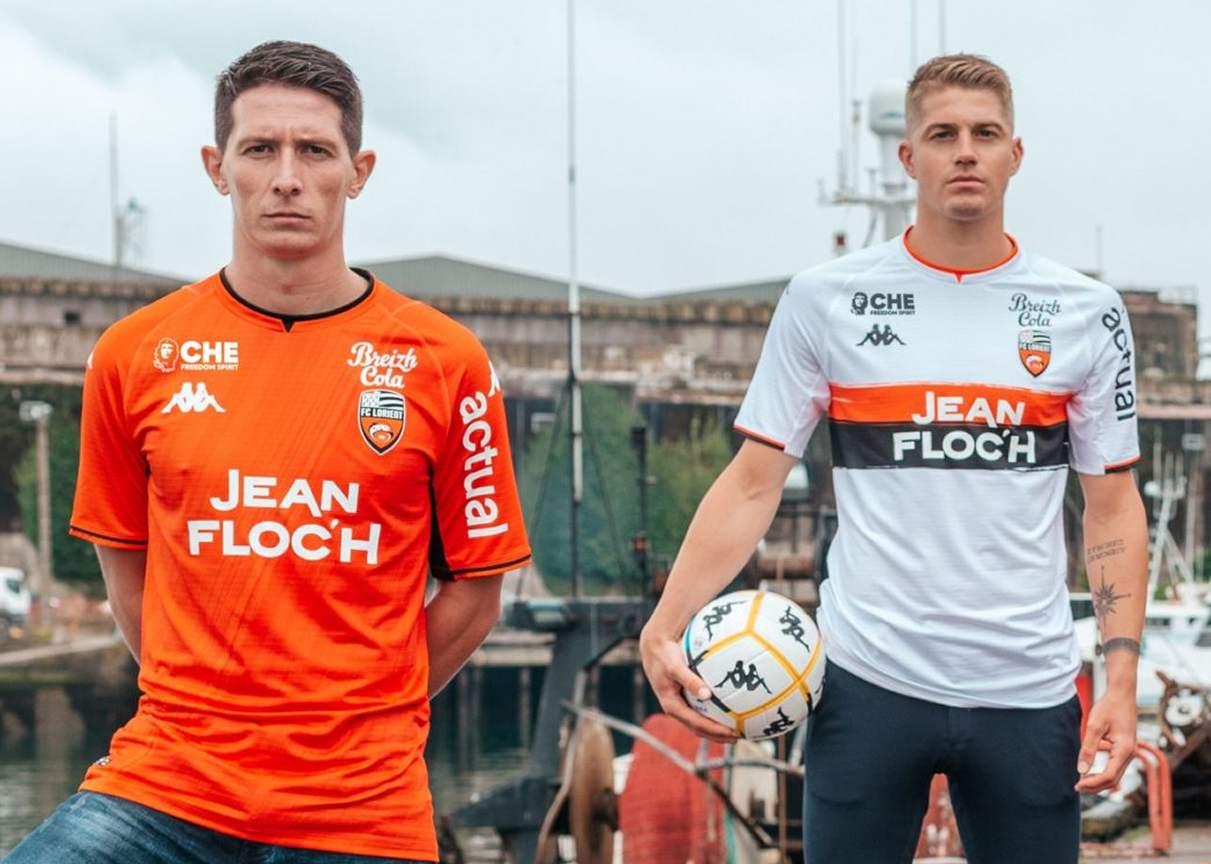 Camisetas Kappa del FC Lorient 2021/22