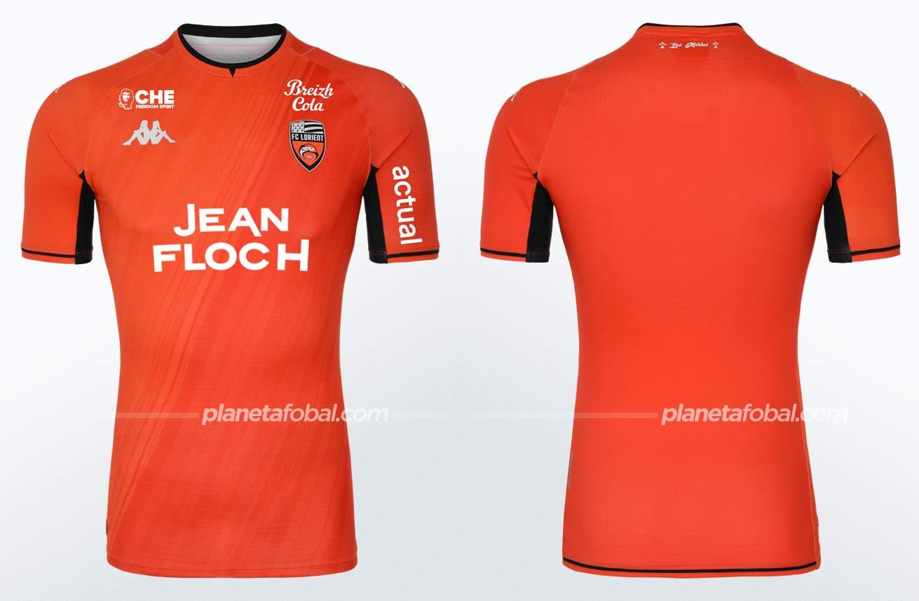 Camiseta local Kappa del FC Lorient 2021/22