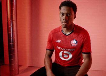 Camiseta titular New Balance del LOSC Lille 2021/22