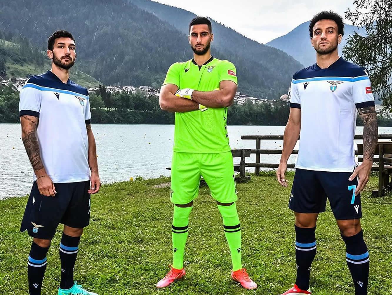 Camiseta suplente Macron de la Lazio 2021/2022