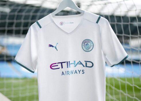 Camiseta suplente Puma del Manchester City 2021/2022