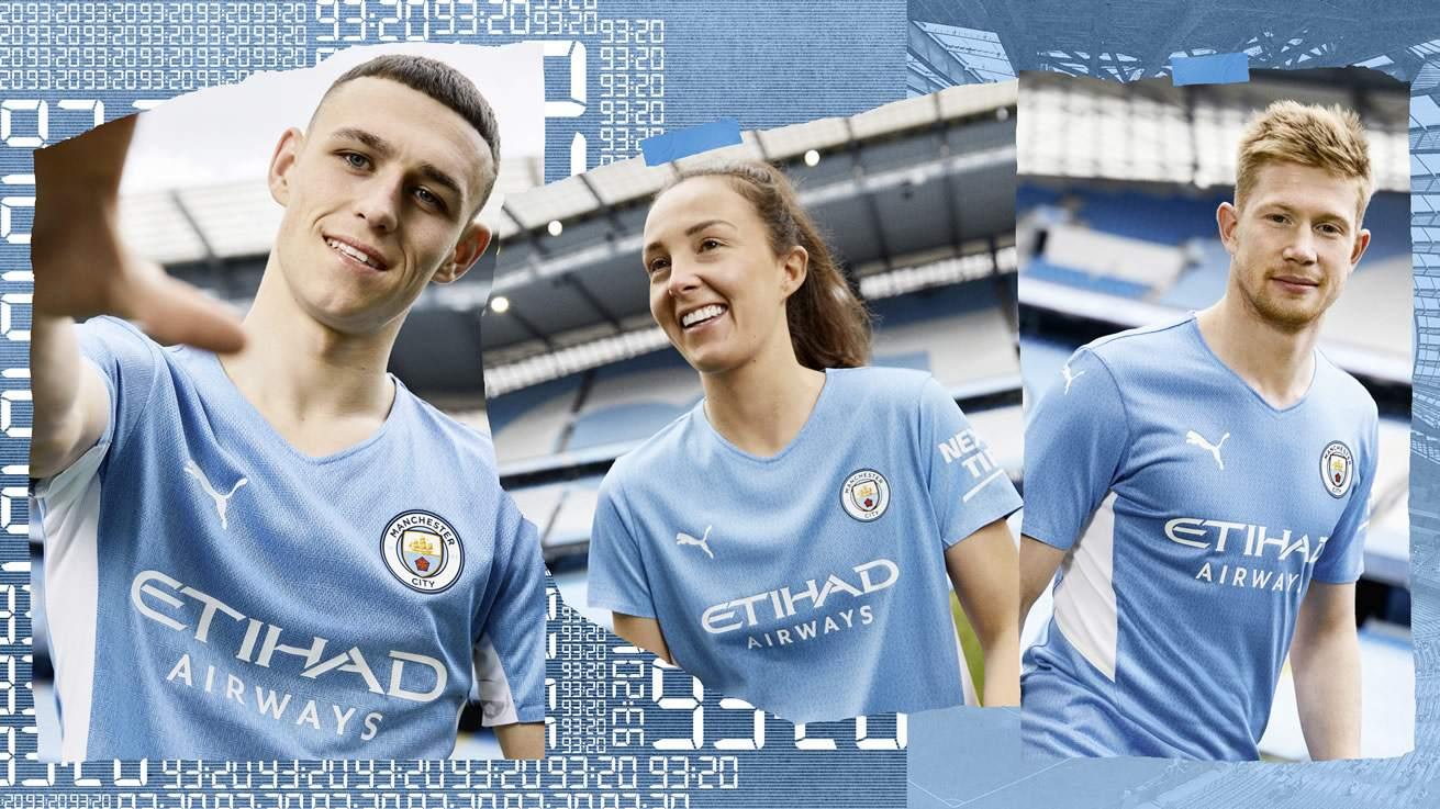 Camiseta Puma del Manchester City 2021/2022