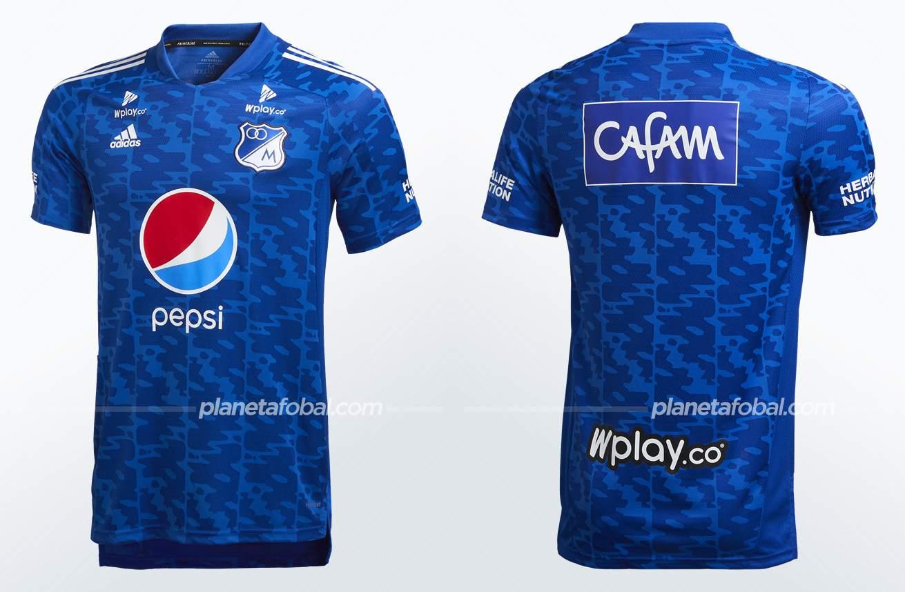 Camiseta adidas de Millonarios 2021/22