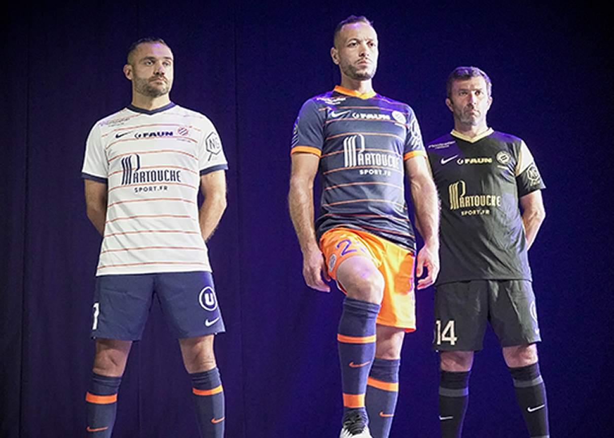 Camisetas Nike del Montpellier 2021/22