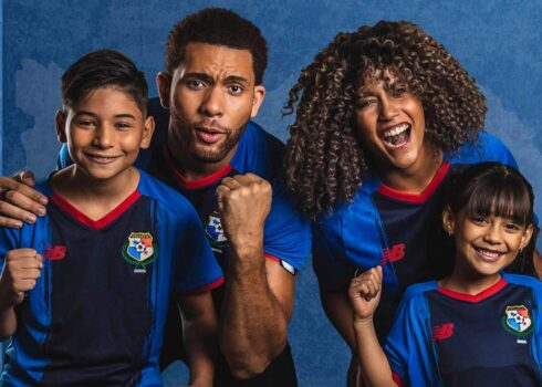 Tercera camiseta New Balance de Panamá 2021/22