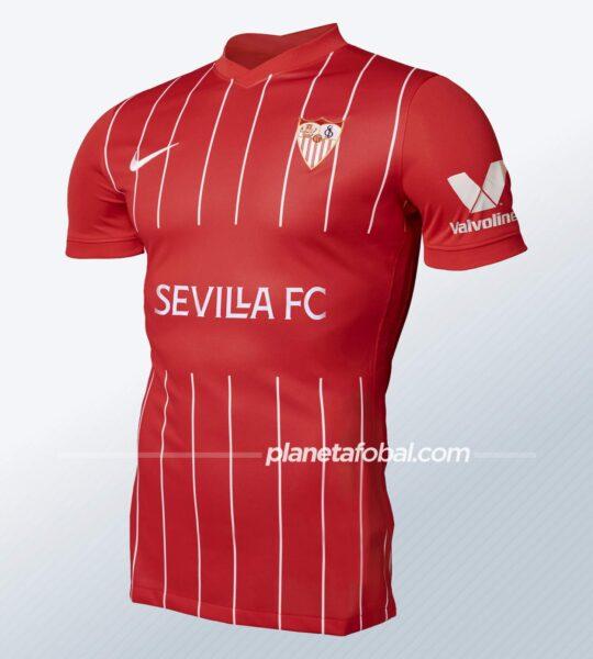 Segunda equipación Nike del Sevilla 2021/2022