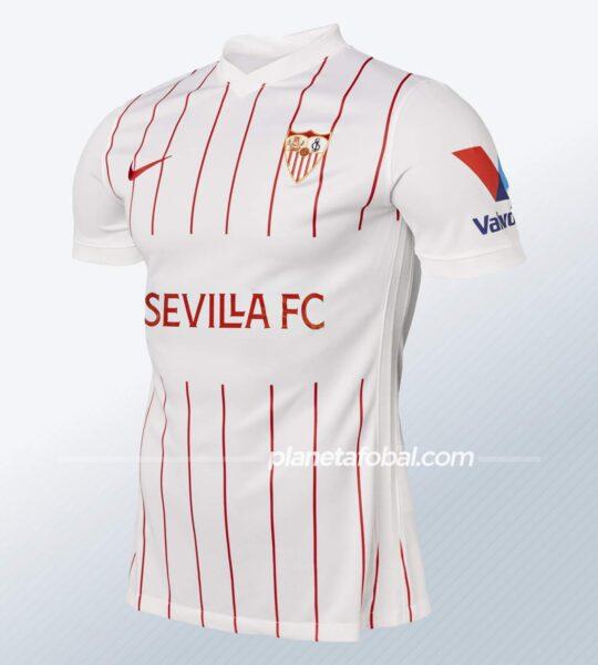 Primera equipación Nike del Sevilla 2021/2022