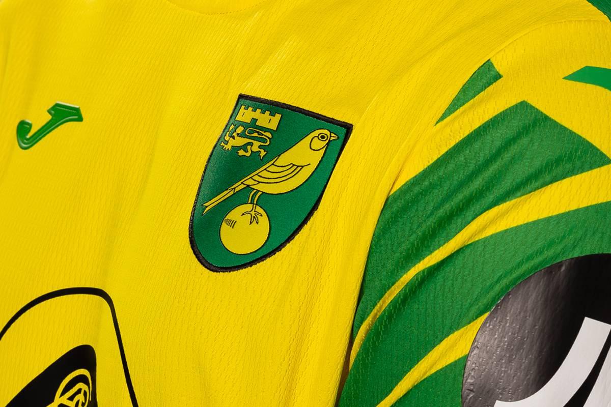Camiseta Erreà del Norwich City 2021/22