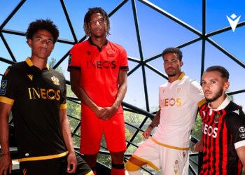Camisetas Macron del OGC Nice 2021/22
