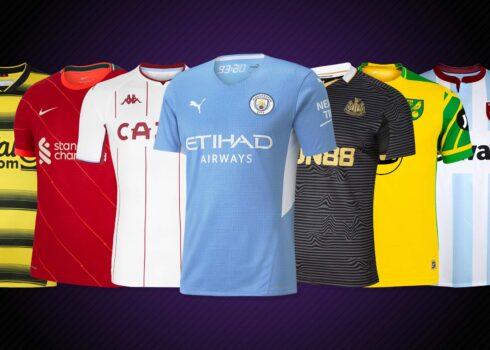 Camisetas de la Premier League 2021/2022