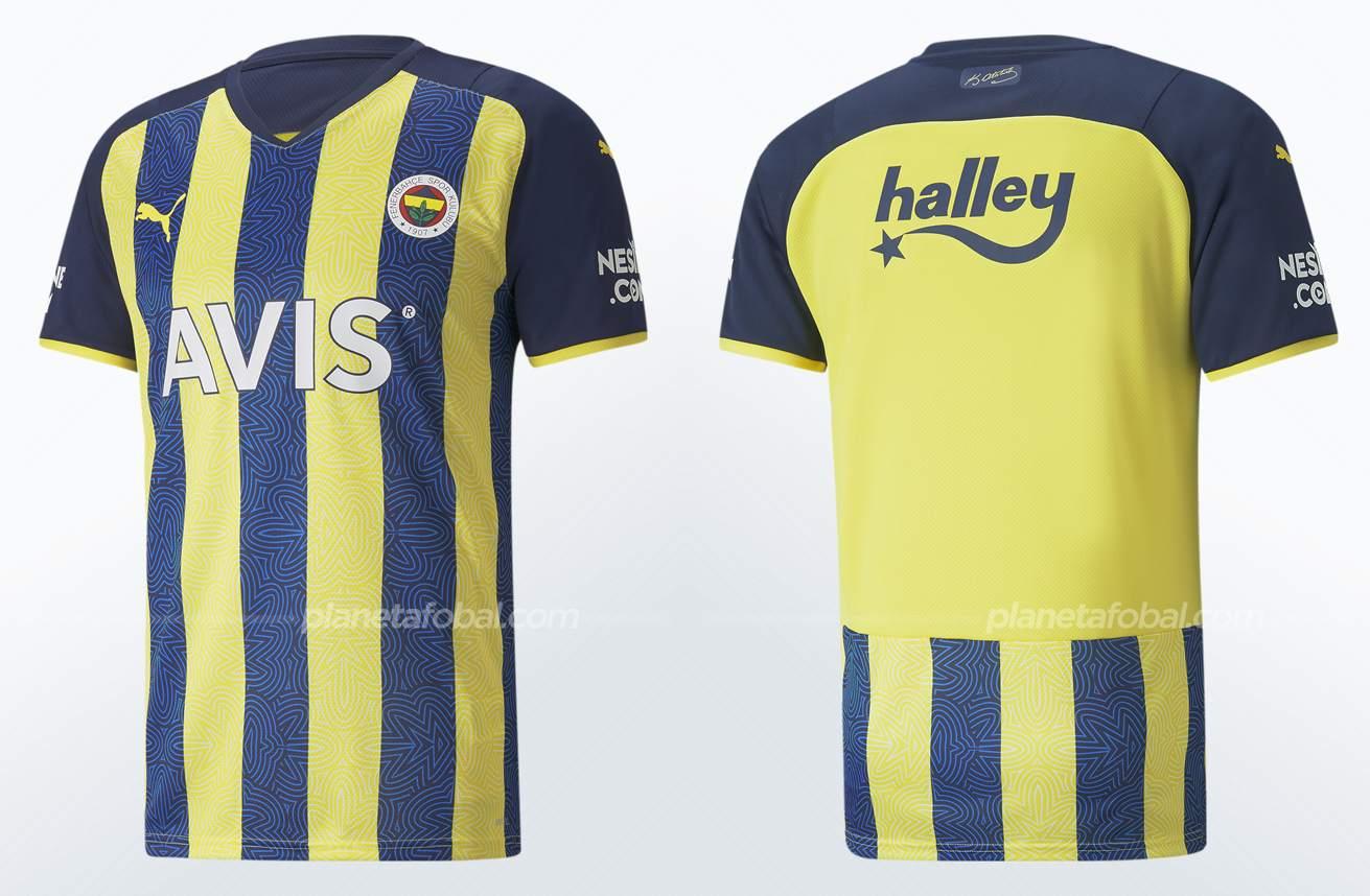 Camiseta titular Puma del Fenerbahçe 2021/2022
