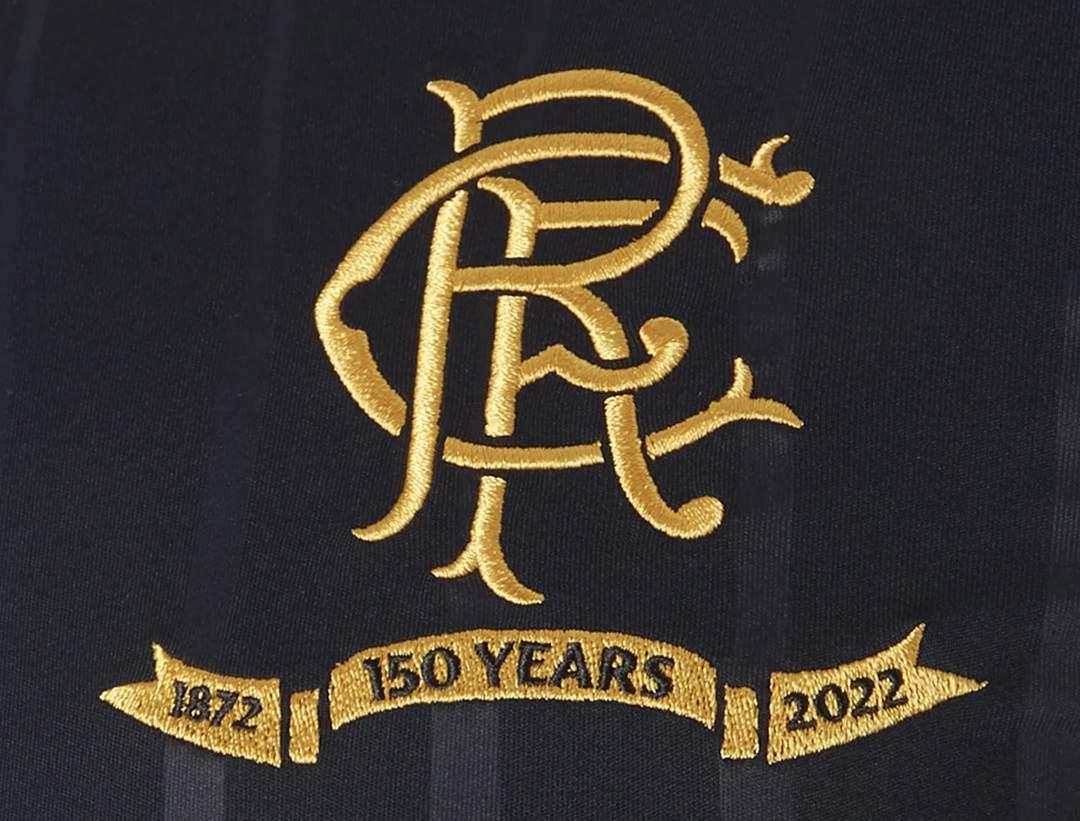 Camiseta suplente Castore del Rangers FC 2021/22