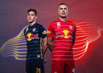 Camisetas Nike del Red Bull Salzburg 2021/22