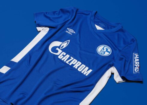 Camiseta Umbro del Schalke 04 2021/22