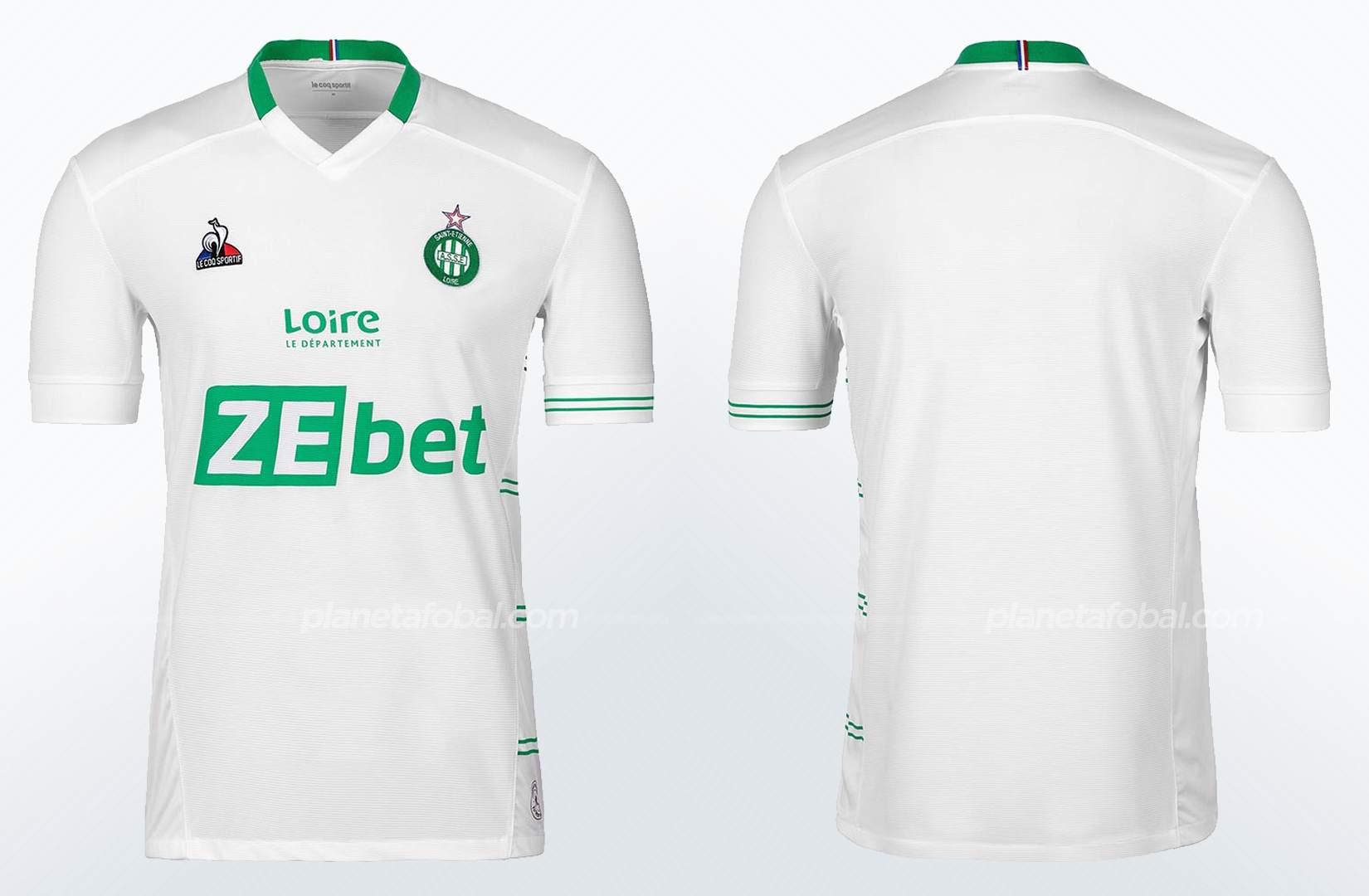 Camiseta suplente le coq sportif del Saint-Étienne 2021/22