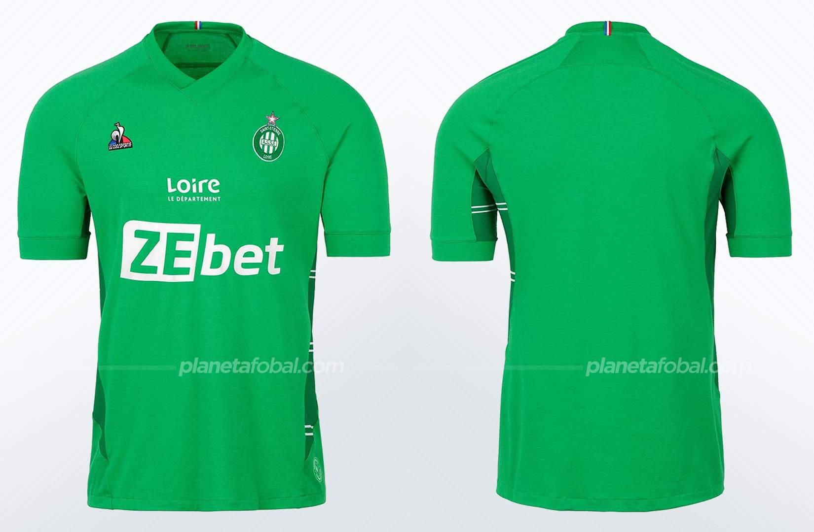 Camiseta titular le coq sportif del Saint-Étienne 2021/22